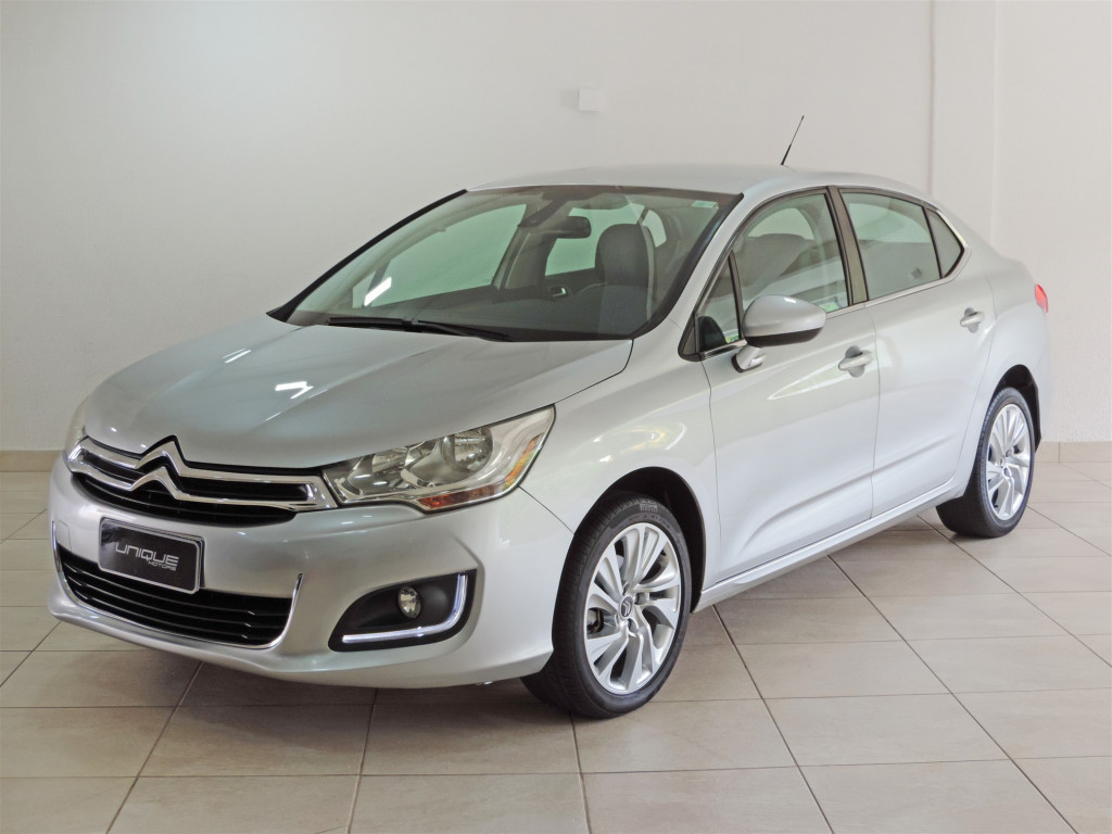 CITROËN C4 LOUNGE 2.0 MPFI TENDANCE 16V FLEX 4P MANUAL