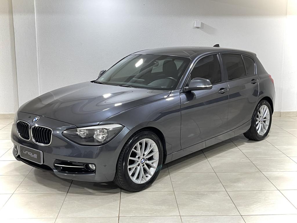 BMW 118i 1.6 16V TURBO GASOLINA 4P AUTOMÁTICO