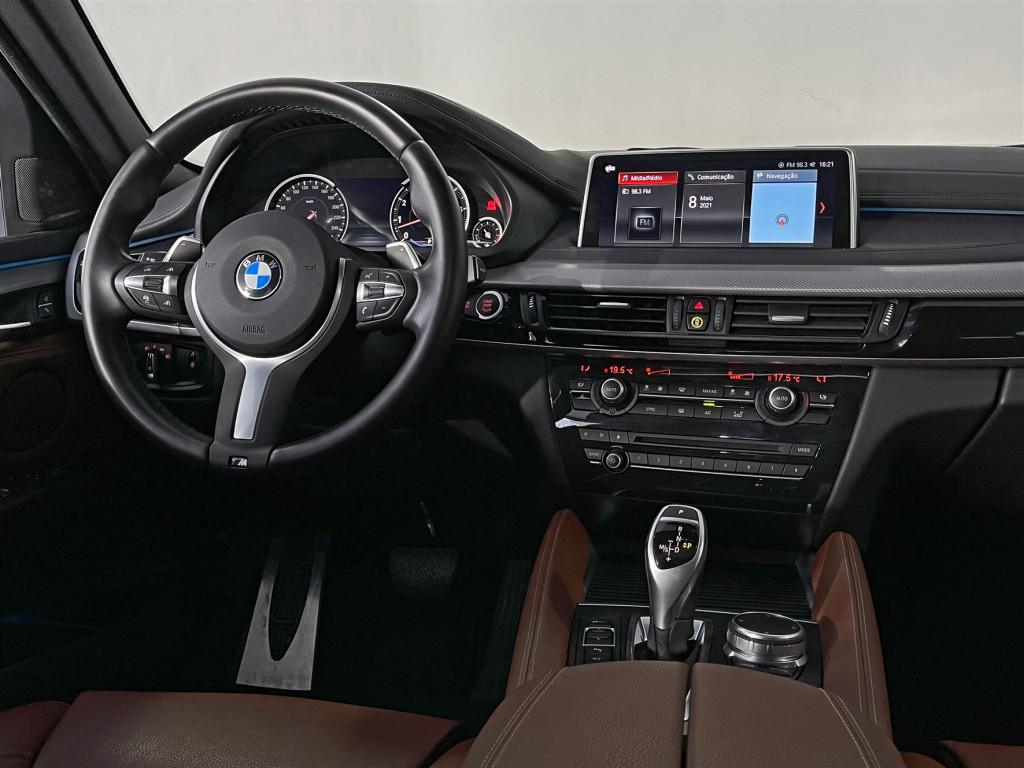 Imagem do veículo BMW X6 XDRIVE 35i 3.0 306cv Bi-Turbo Único dono  Kit M Sport