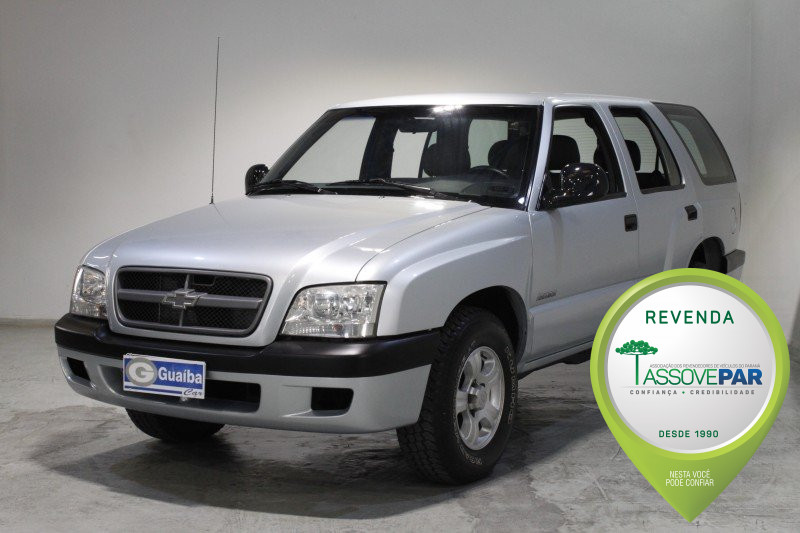 CHEVROLET BLAZER 2.4 MPFI ADVANTAGE 4X2 8V GASOLINA 4P MANUAL