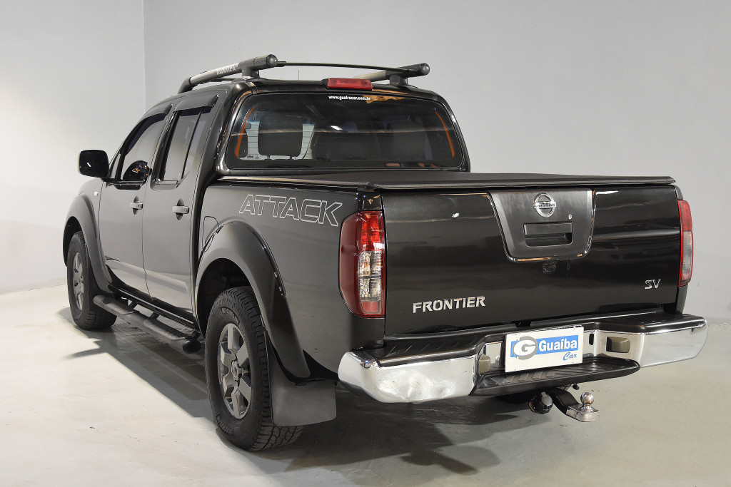 Imagem do veículo NISSAN FRONTIER 2.5 SV ATTACK 4X4 CD TURBO ELETRONIC DIESEL 4P MANUAL