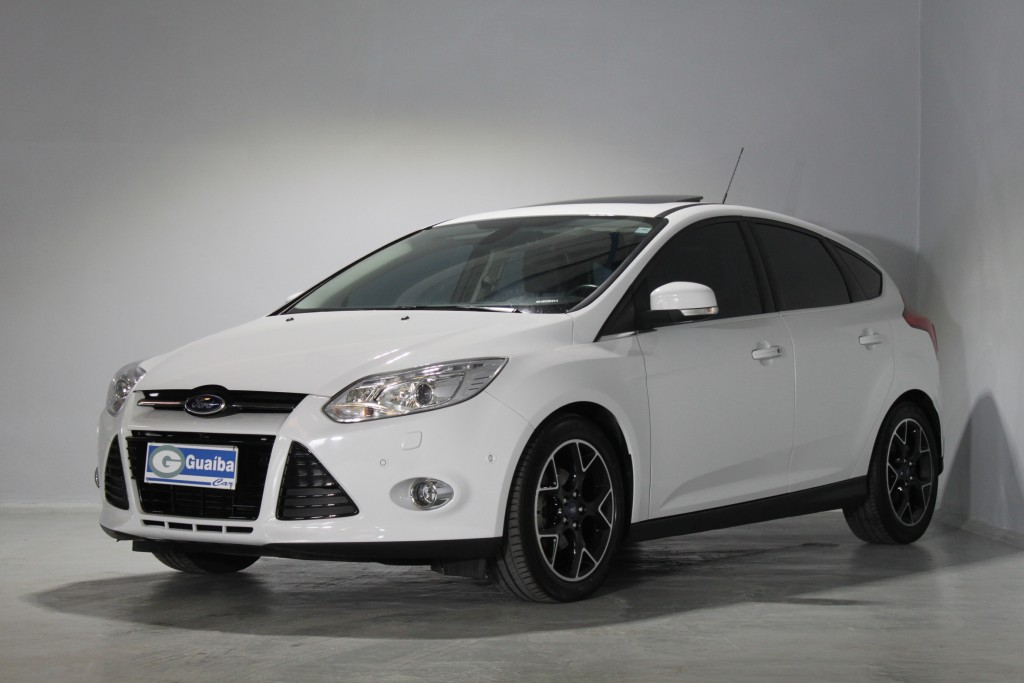 FORD FOCUS 2.0 TITANIUM PLUS 16V FLEX 4P POWERSHIFT AUTOMÁTICO