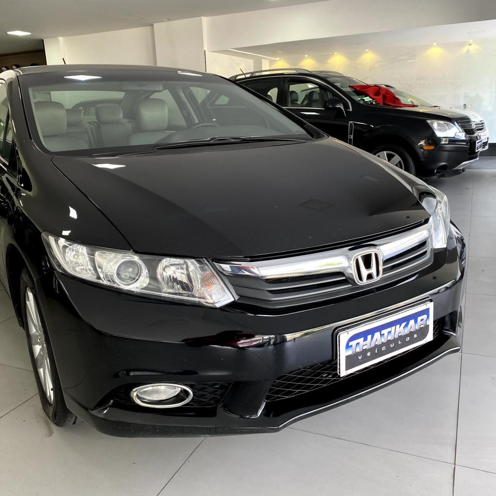 Imagem do veículo Civic LXS 2012/2012 Completo, Bancos em couro, Pneus novos !