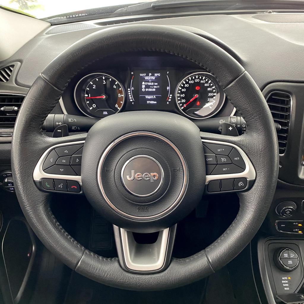 Imagem do veículo Compass Longitude Pac Premium 2017/2017 Diesel único dono !