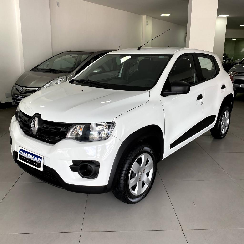 Kwid Zen 2018/2019 Completo, único dono, todo revisado na Renault, garantia até 12/2021 !
