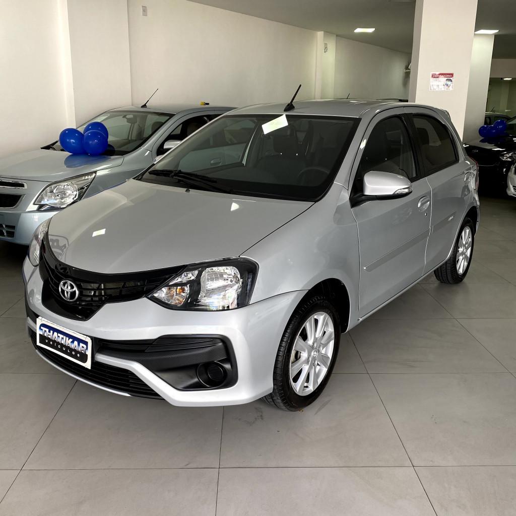 Etios X Plus 1.5 2018/2019 Completo, automático, com apenas 11.000 km !