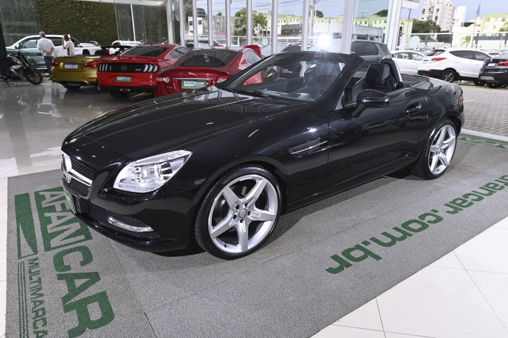 MERCEDES-BENZ SLK 250 1.8 CGI 16V TURBO AUT./2013