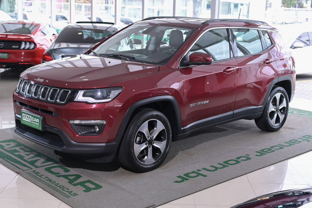 JEEP COMPASS LONGITUDE 2.0 16V FLEX  AUT./2018