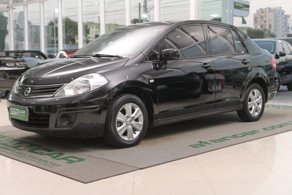 NISSAN TIIDA 1.8 SEDAN 16V FLEX 4P MANUAL/2012
