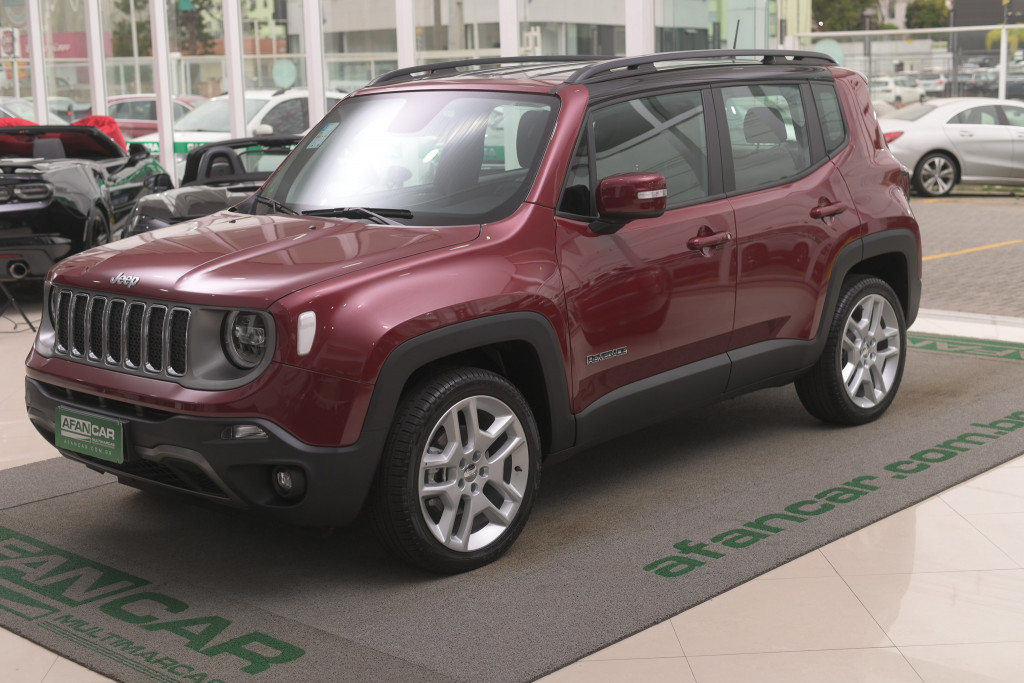 JEEP RENEGADE 1.8 16V FLEX LIMITED 4P AUT/2020 - ZERO KM