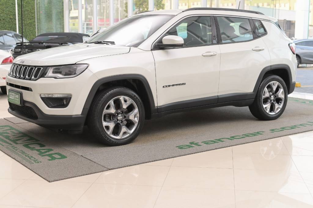 JEEP COMPASS LONGITUDE 2.0 16V FLEX  AUT/2019