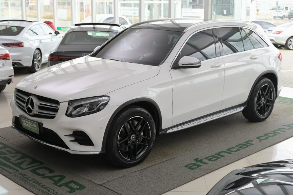 MERCEDES-BENZ GLC250 SPORT 4MATIC 2.0T C/TETO / 2018