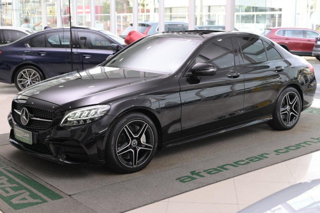 MERCEDES-BENZ C300 SPORT 2.0 TURBO C/TETO AUT./2019