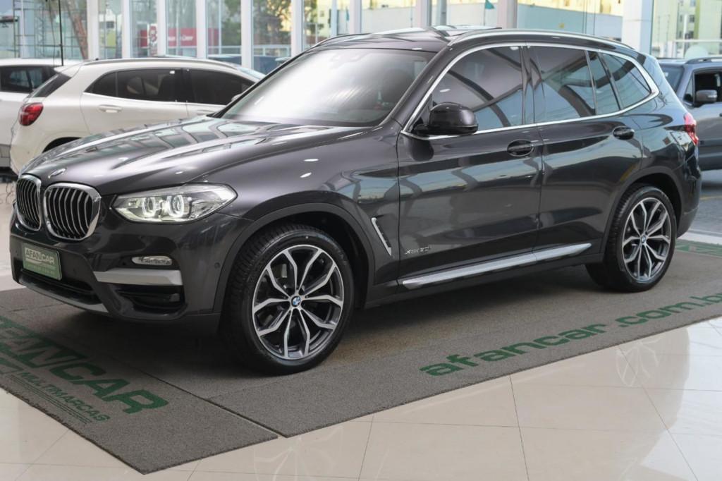 BMW X3 X-DRIVE 30I X-LINE 2.0 TURBO 252CV C/TETO AUT./2019