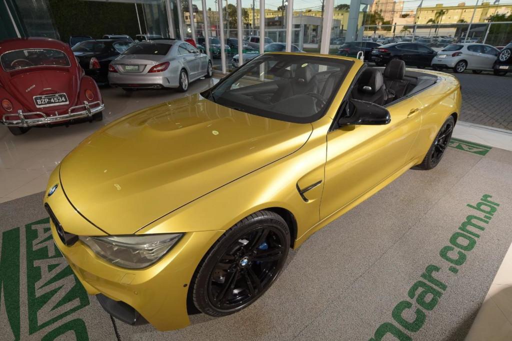 BMW M4 CABRIOLET 3.0 TWIN-TURBO 431CV AUT/2016
