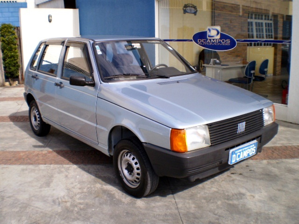 FIAT UNO 1.0 MILLE 8V GASOLINA 4P MANUAL