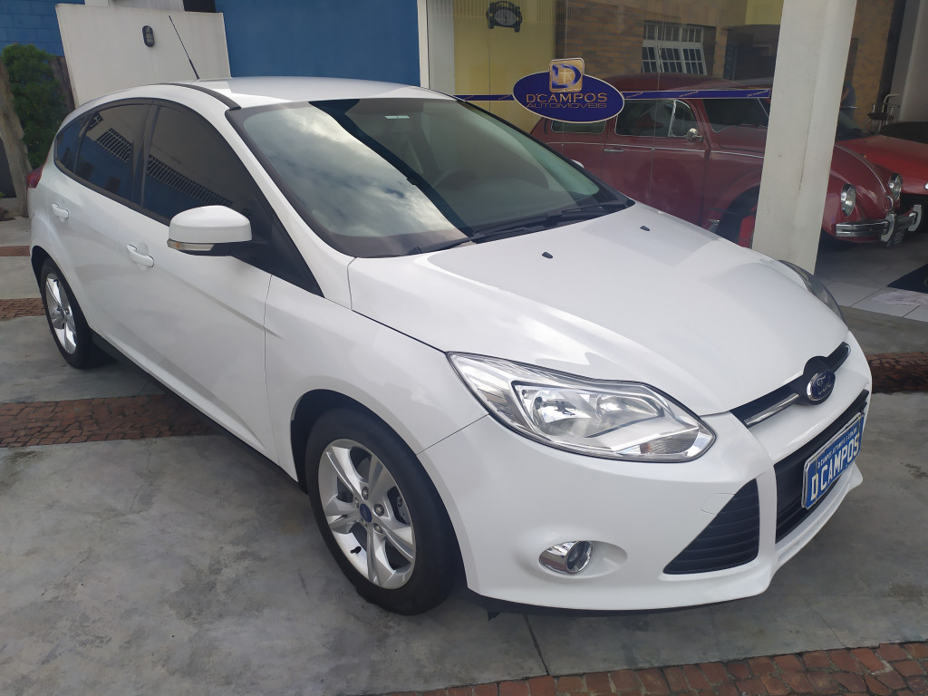 FORD FOCUS 1.6 S HATCH 16V FLEX 4P AUTOMÁTICO