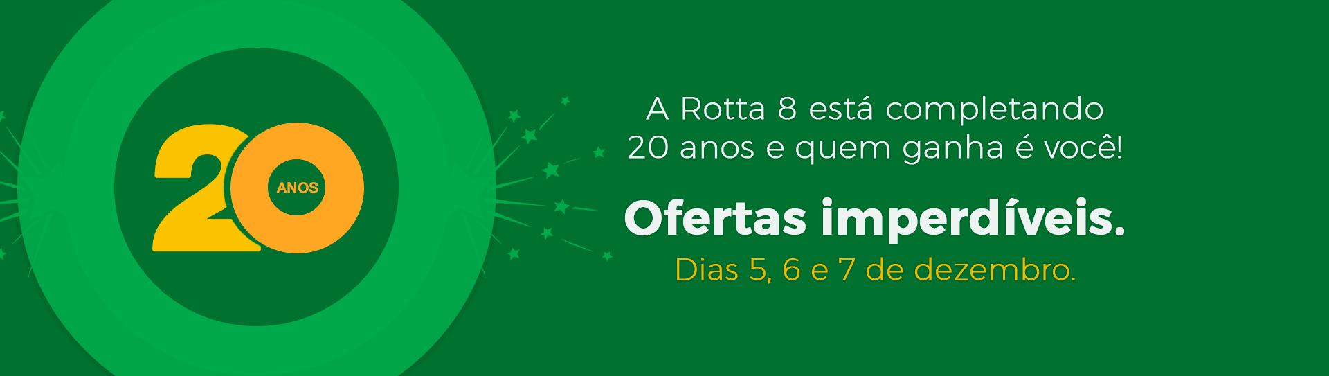 Banner Rotta 8 Matriz - Linha Verde
