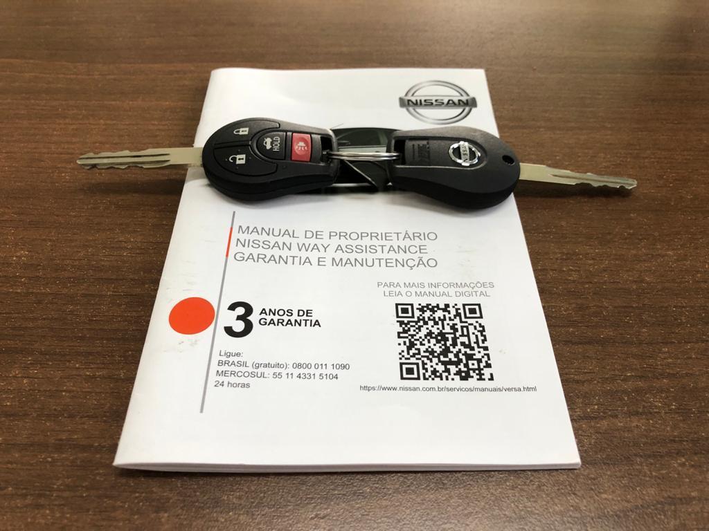 Imagem do veículo NISSAN VERSA 1.6 SV - AUTOMÁTICO - VEÍCULO COM ESTADO DE ZERO KM!!!