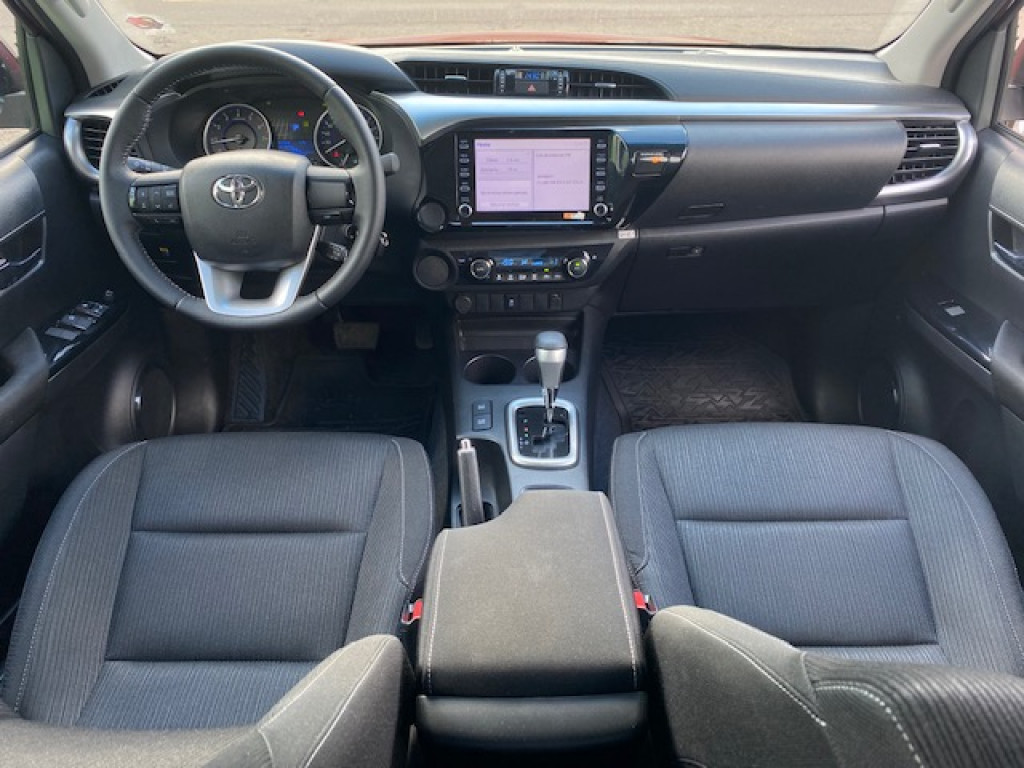 Imagem do veículo TOYOTA HILUX 2.7 SR 4X2 CD FLEX - AUTOMÁTICO - ZERO QUILÔMETROS!!!