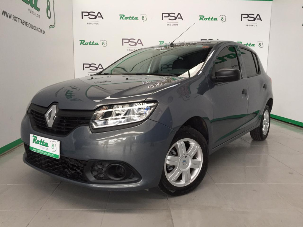 SANDERO 1.0 AUTHENTIQUE 16V FLEX 4P MANUAL