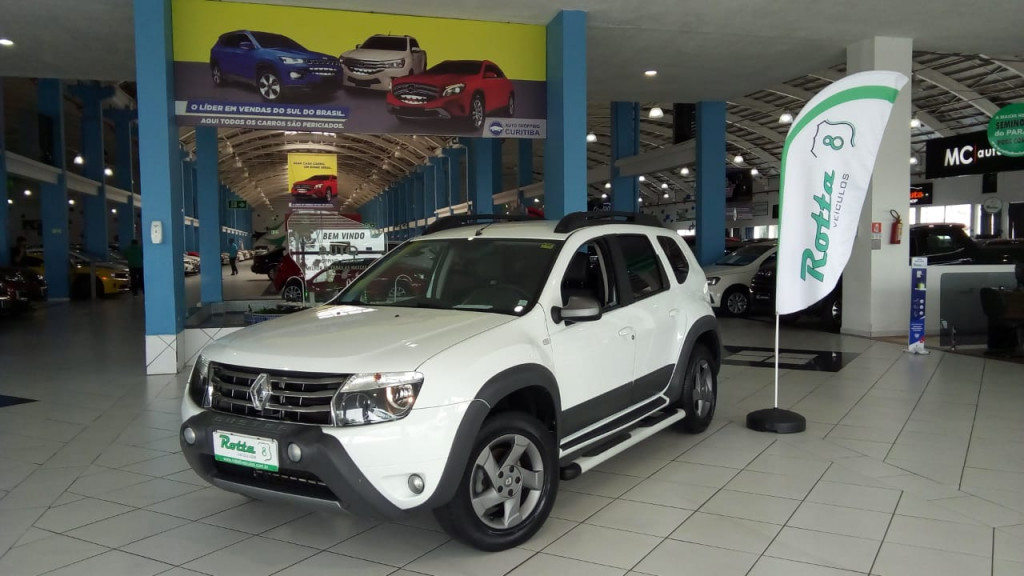 DUSTER 2.0 TECH ROAD II 4X4 16V FLEX CONFIRA !!!