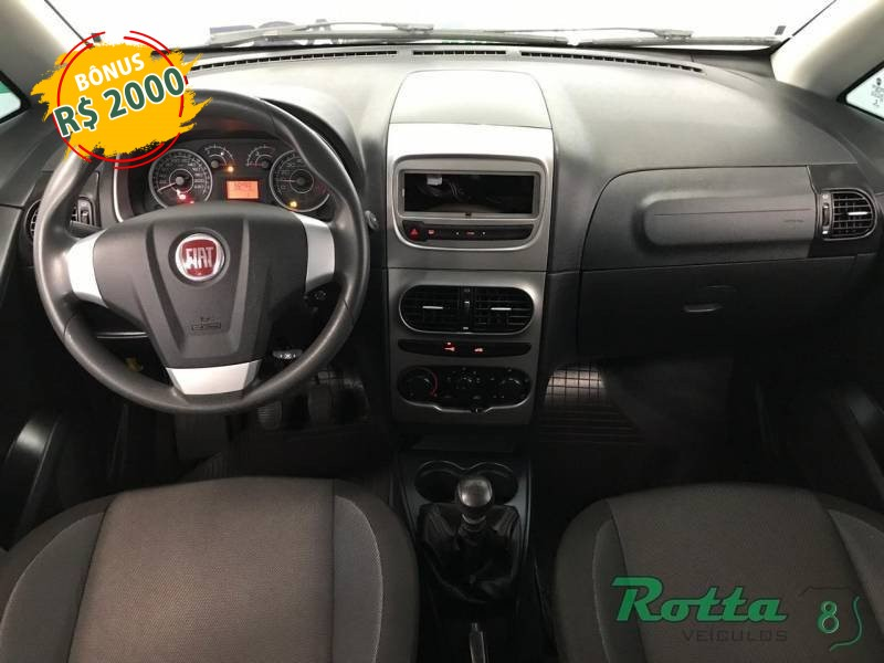 Imagem do veículo Fiat Idea Attractive 1.4 - Prata - 2015