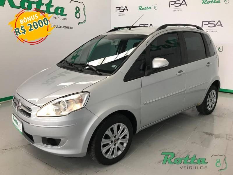 Fiat Idea Attractive 1.4 - Prata - 2015
