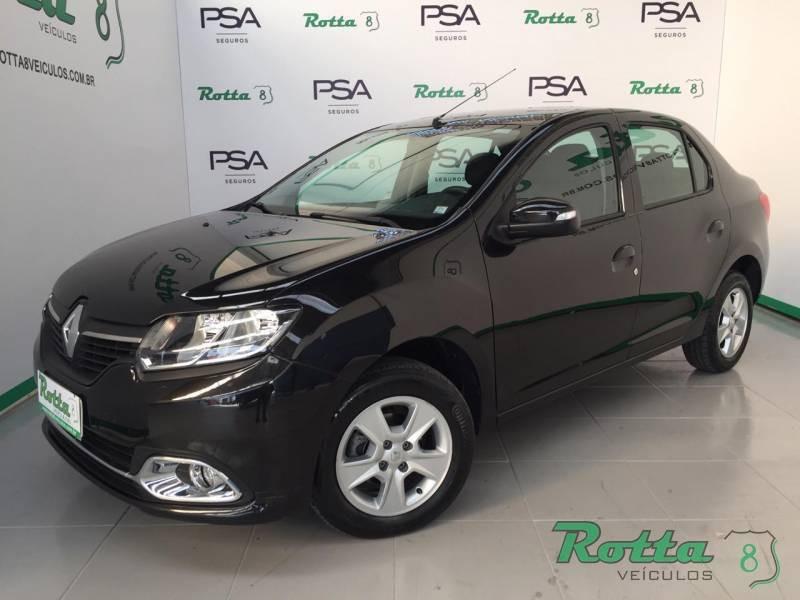 Renault Logan Expression 1.6 - Preto - 2015