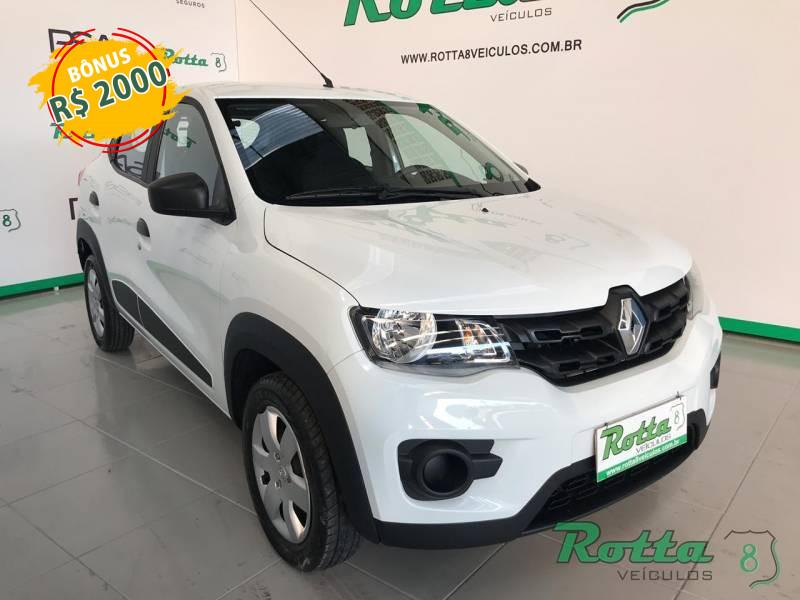 Imagem do veículo Renault Kwid Zen 1.0 - Branco - 2018