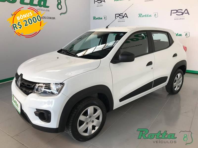 Renault Kwid Zen 1.0 - Branco - 2018