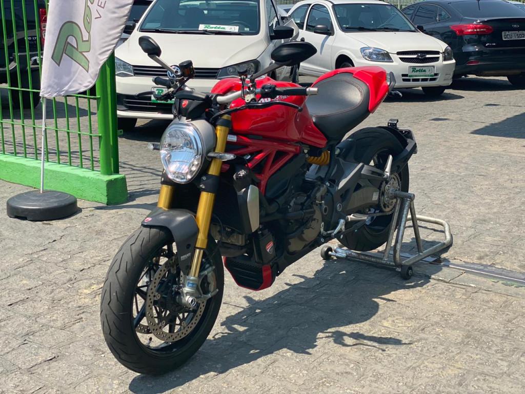 DUCATI MONSTER 1200 S - BAIXISSIMA QUILOMETRAGEM !!!