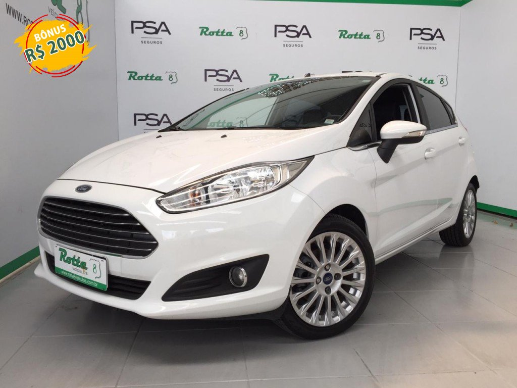 FORD FIESTA 1.6 TITANIUM HATCH 16V FLEX 4P POWERSHIFT