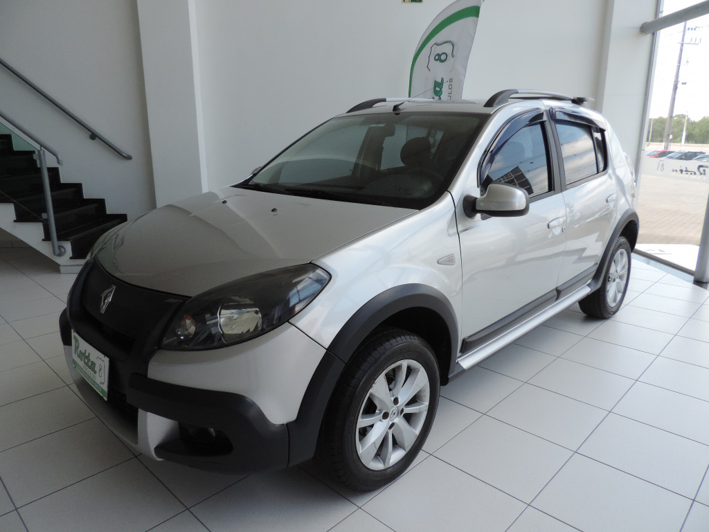 RENAULT SANDERO 1.6 stepway 16v flex 4p manual