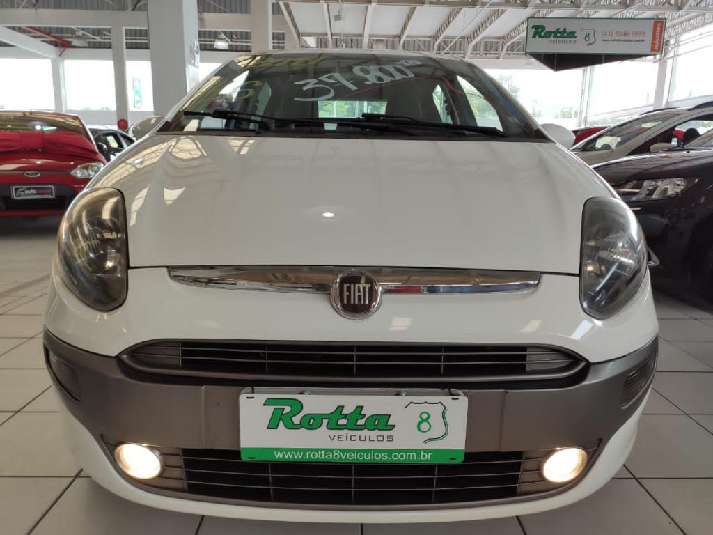 FIAT PUNTO 1.6 ESSENCE 16V FLEX 4P AUTOMATICO 2014 - ÚNICO DONO + STEP SEM USO APENAS 83 MIL KM