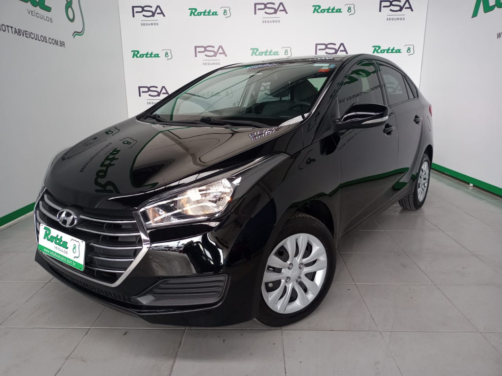 HB20S 1.6 COMFORT PLUS 16V FLEX 4P MANUAL - COM APENAS 37 MIL KM