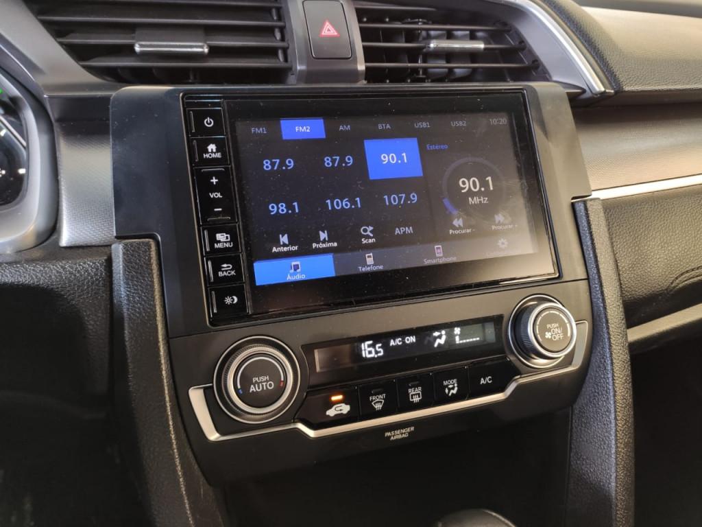 Imagem do veículo HONDA CIVIC 2.0 16V FLEXONE EX CVT 2018/2018 - ÚNICA DONA APENAS 48 MIL KM C/ REVISÕES EM CONCESSIONÁRIA!!