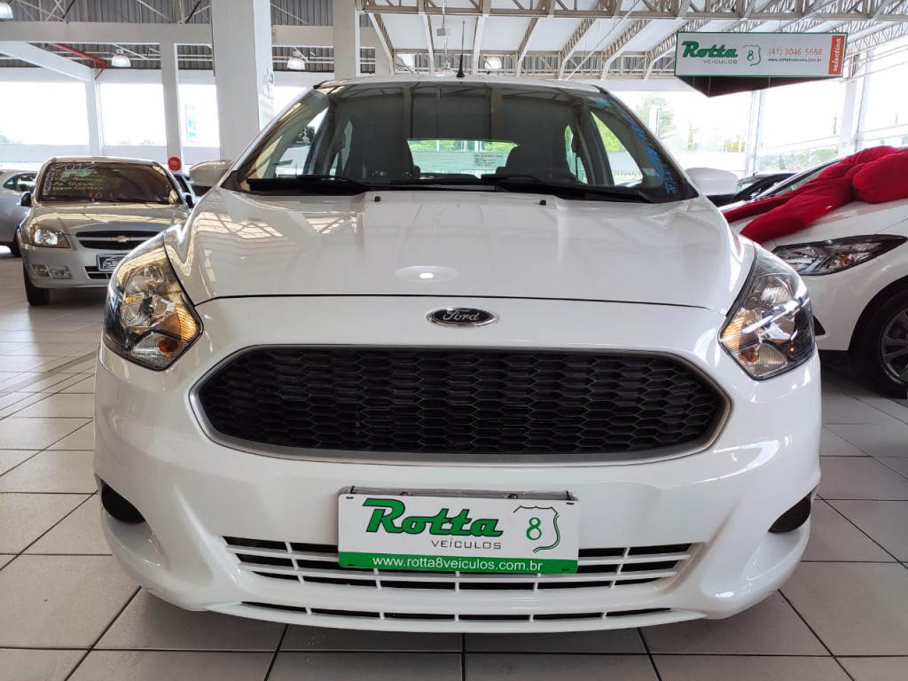 FORD KA 1.0 SE 12V FLEX 4P MANUAL 2015 - ÚNICA DONA!