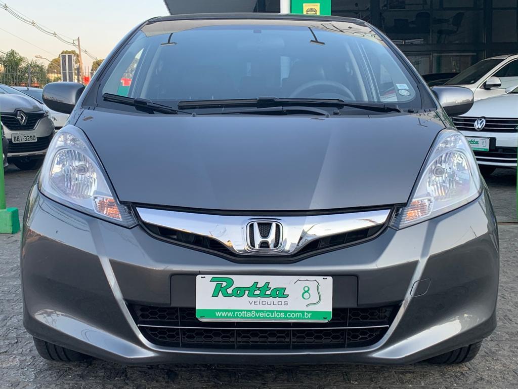 HONDA FIT 1.4 LX 16V FLEX 4P AUTOMÁTICO - UNICA DONA - APENAS 58 MIL KM - RARIADADE!!!