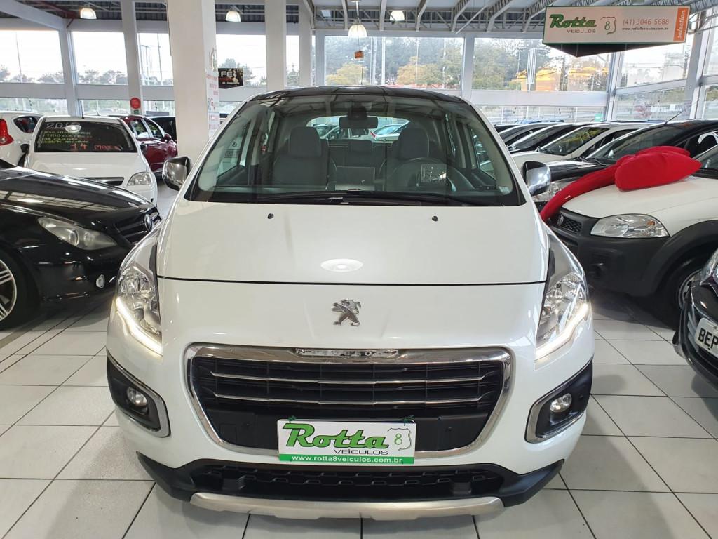 PEUGEOT 3008 1.6 16V THP  GRIFFE AUTOMÁTICO  2015 -  APENAS 48 MIL KM