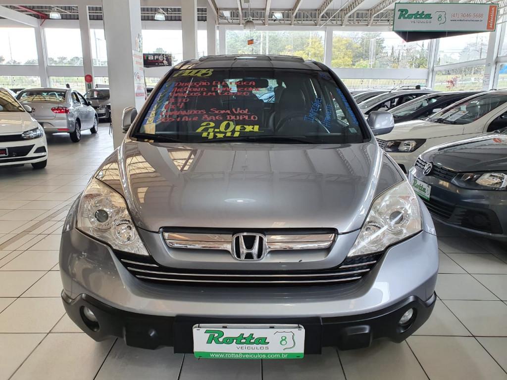HONDA CRV 2.0 EXL 4X4 AUTOMÁTICO  2008 - RARIDADE EM ESTOQUE