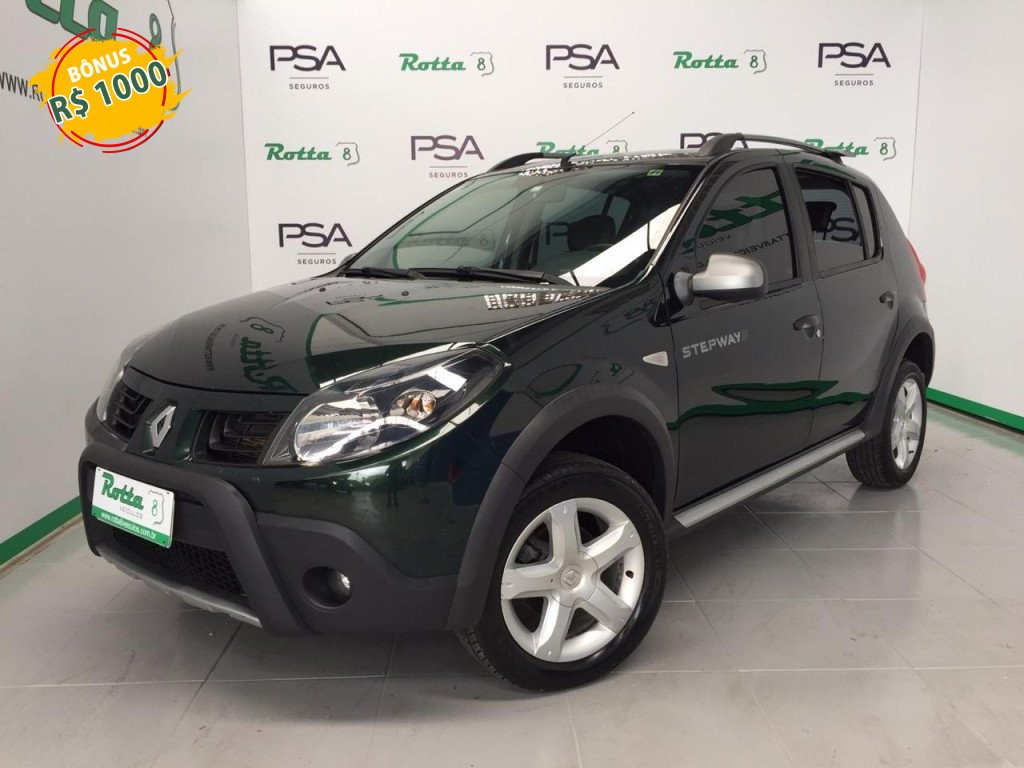 SANDERO 1.6 16V SCE FLEX STEPWAY MANUAL !!!