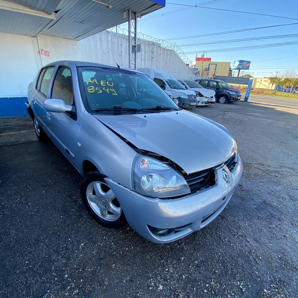 RENAULT CLIO 1.6 PRIVILÉGE 16V FLEX 4P MANUAL