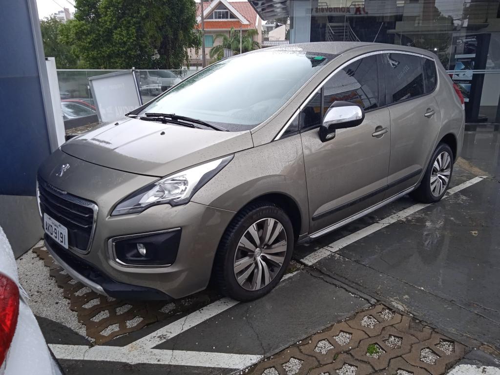 PEUGEOT 3008 1.6 allure thp 16v gasolina 4p automatico
