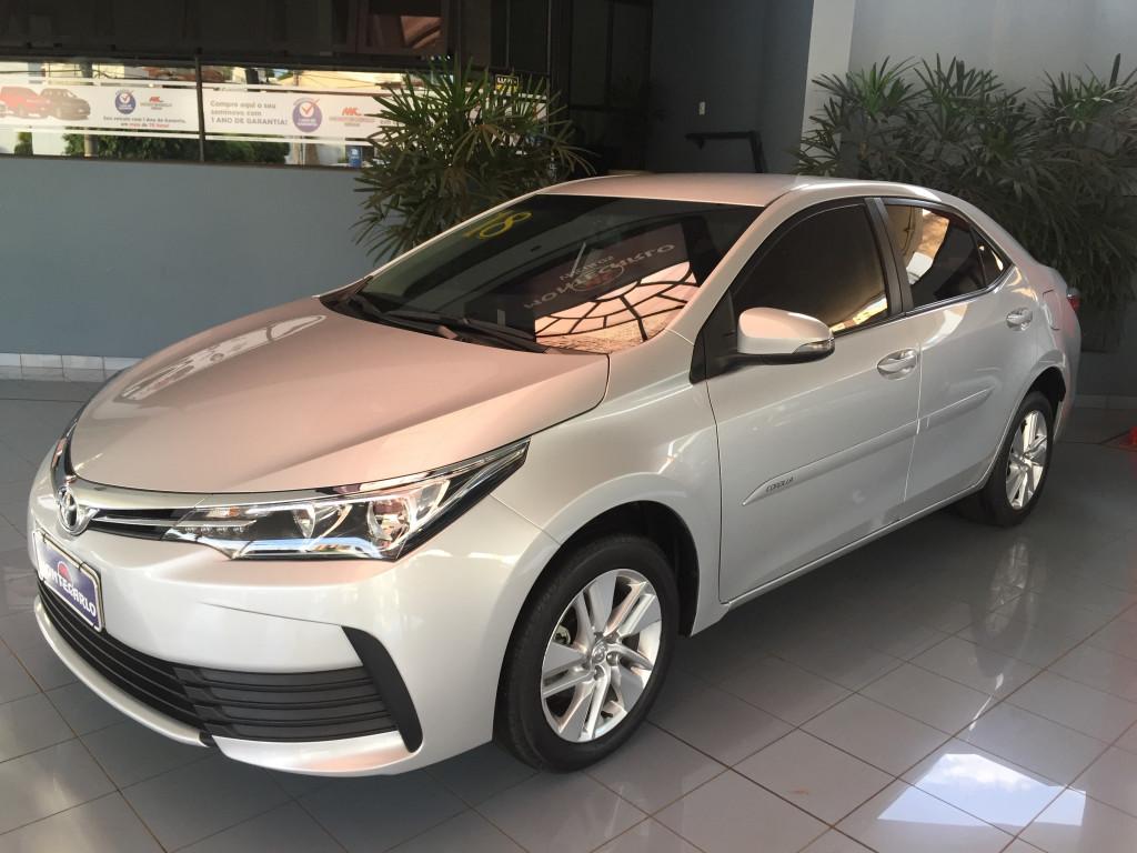 TOYOTA COROLLA GLI 1.8 FLEX  16V AUTOMÁTICO - 2017/18
