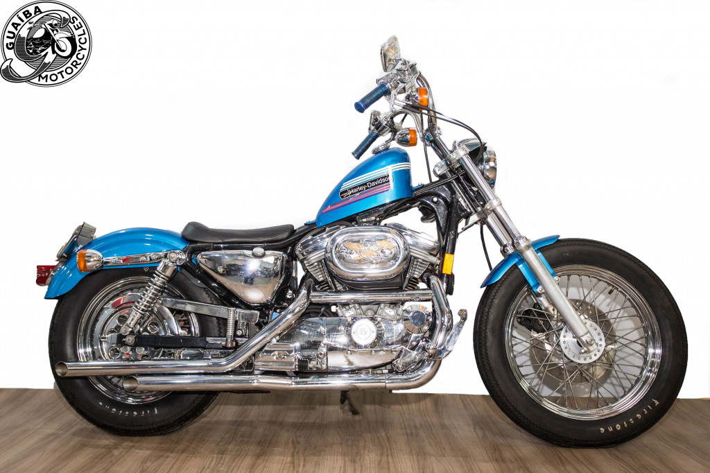 Harley Davidson - Sportster XL 883 Customizada Carburada