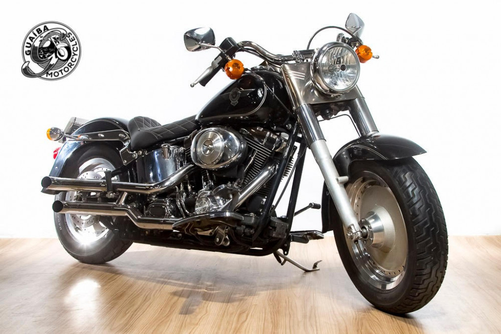 Imagem do veículo Harley Davidson - Softail Fat Boy FLSTF Carburada