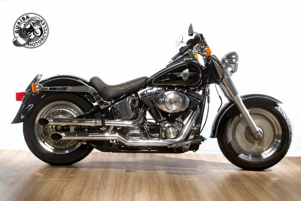 Harley Davidson - Softail Fat Boy FLSTF Carburada