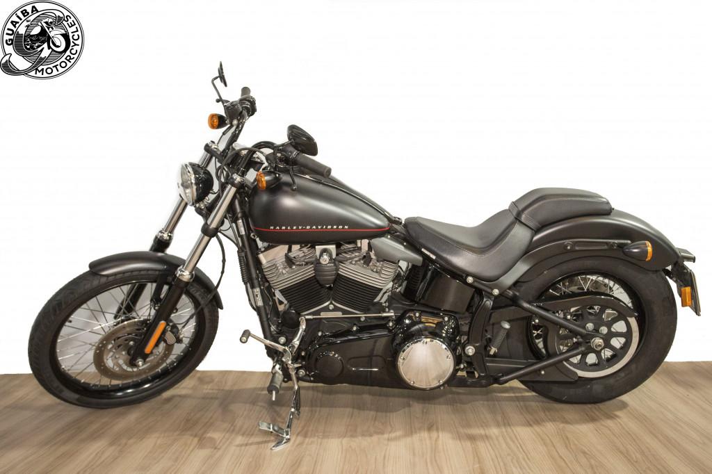 Imagem do veículo Harley Davidson - Softail Blackline FXS