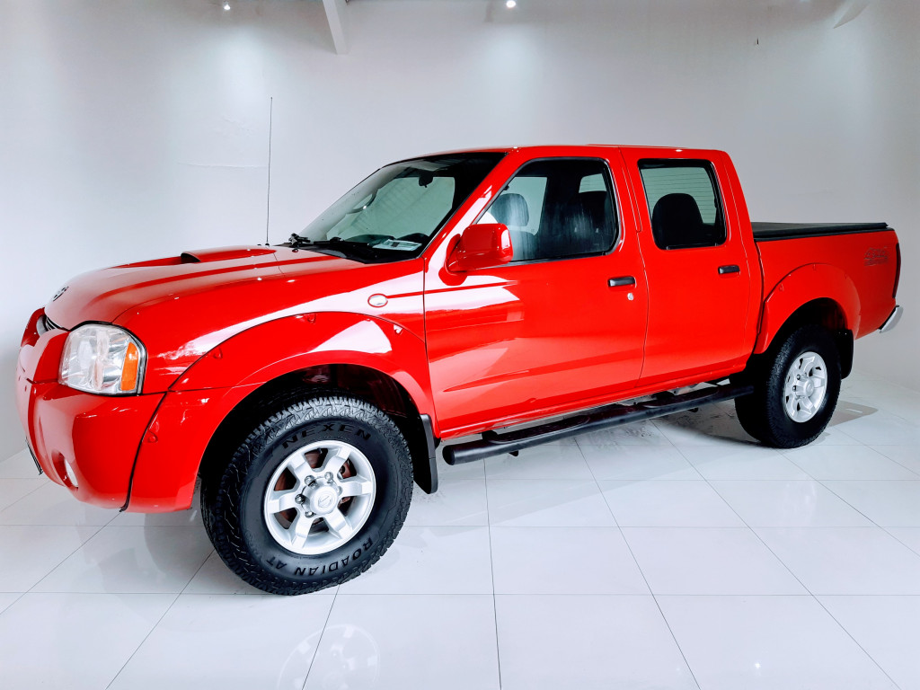 NISSAN FRONTIER 2.8 SE 4X4 CD TURBO DIESEL 4P MANUAL